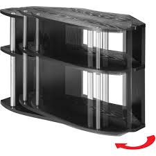 Tv Furniture Designs2go Swivel Black Tv Stand For Tvs Up To 32