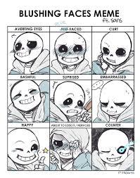 Cute Meme Faces - blushing faces meme by piikoarts on deviantart