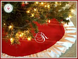 personalized tree skirt christmas