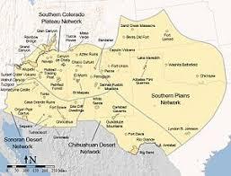 map of southwest southwestern united states