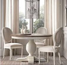 Restoration Hardware Dining Room Tables Aldridge Round Dining Table Kitchen Nook Great Price With