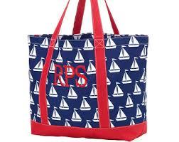 nautical tote nautical tote bag etsy