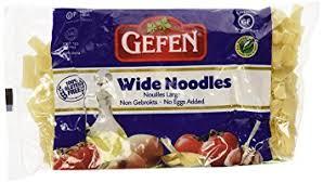 gefen noodles wide noodles gluten free 9 oz each