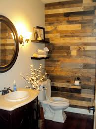 bathroom wall ideas pallet wood accent wall sustainable lumber company