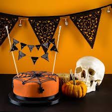 Halloween Cake Topper by Halloween Cake Mini Bunting Cake Topper Bats By Baloolah Bunting