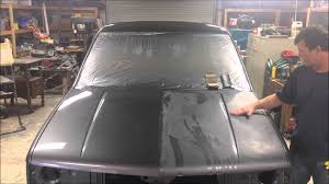 how to paint a truck color sanding u0026 buffing clear coat youtube