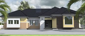Bungalow Home Bedroom Bungalow Plan In Nigeria 4 Bedroom Bungalow House Plans
