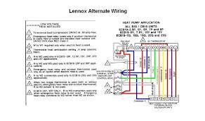 lennox furnace thermostat wiring diagram dolgular com