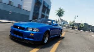 nissan skyline 2015 blue nissan skyline gt r r34 the crew wiki fandom powered by wikia
