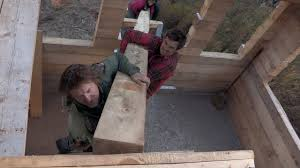 How To Build A Cottage House by How To Build A Cabin By Hand Alaska The Last Frontier Youtube