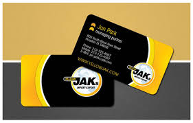 business cards houston 30 professional exles of yellow colored