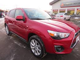mitsubishi outlander sport 2014 red used car inventory mitsubishi mirage lancer outlander i miev