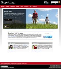 our earth red web template layouts for business