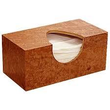 tissue box cover select anigre burl this wood tissue box cover