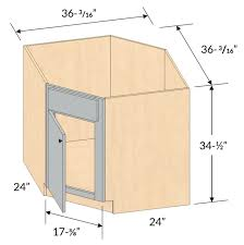 what sizes do sink base cabinets come in dcsb36 shaker maple diagonal corner sink base cabinet 1 door framed assembled kitchen cabinet