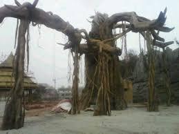 china make large outdoor artificial trees banyan ficus