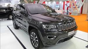 jeep grand cherokee interior 2018 2018 jeep grand cherokee overland exterior and interior bologna