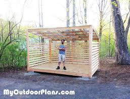 Free Firewood Storage Shed Plans by 26 Best Wood Shed Images On Pinterest Firewood Storage Wood