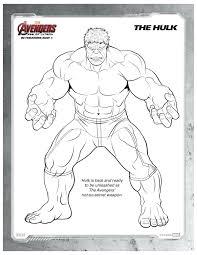 free printable marvel avengers hulk coloring mama likes
