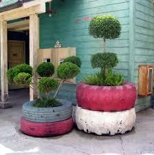 to diy old tire garden ideas u2014recycled backyard