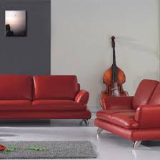 Red Furniture Living Room Magento Red Furniture Set