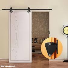 Barn Door Bedroom by Voilamart 2m Sliding Barn Door Hardware Track Set Lock No Joint