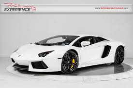 lamborghini aventador 2012 used 2012 lamborghini aventador lp 700 4 for sale plainview near