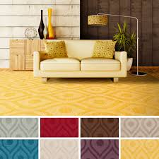 flooring appealing brown geo momeni rugs for enchanting living