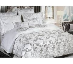 luxury sateen jacquard bedding 200 x 220cm