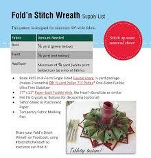fold u0027n stitch wreath u2013 stina u0027s quilt and sewing supplies sewing
