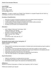 Health Care Assistant Resume Patient Care Assistant Resume Resume Ideas