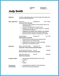 Resume For Office Job by Writing A Great Assistant Property Manager Resume