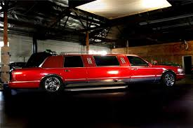 1996 lincoln towncar custom u0027fire truck limo u0027 61598