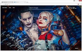 ps4 themes harley quinn harley quinn wallpapers hd new tab themes chrome web store