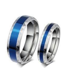 titanium wedding band reviews blue titanium wedding bands online blue titanium wedding bands