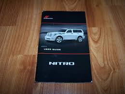 2011 dodge nitro owners manual amazon com books