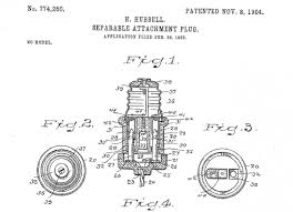 first us detachable electric plug u2013 today in history november 8