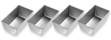 Kitchen Faucet Made In Usa Amazon Com Usa Pan Bakeware Mini Loaf Pan Set Of 4 Nonstick