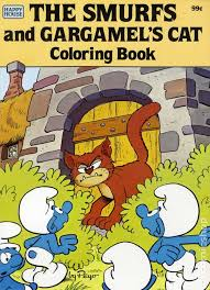 smurfs gargamel u0027s cat coloring book sc 1982 comic books