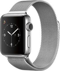 Stainless Stee Apple Watch 42mm Stainless Steel Case Stainless Steel Milanese