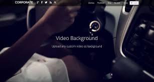 wp themes video background corporate business portfolio wordpress theme