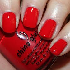 china glaze hey sailor perfect red nailpolish nail u0027em