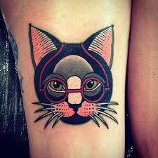 cute cat tattoo examples
