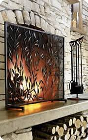 best 25 decorative fireplace screens ideas on rustic