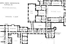 houses of state balmoral castle floor plans the military