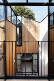 house courtyard a light filled family home made from a wood yard anekarts com