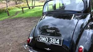 morris minor 1000 1957 youtube