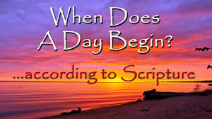 when does a day begin