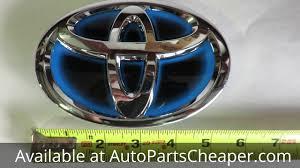 toyota hybrid logo 2011 2013 toyota highlander hybrid front grille emblem badge