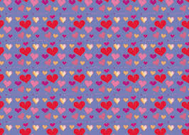 heart wrapping paper cavaliers gift wrap with hearts